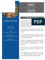 james green curriculum vitae 2018 final