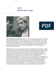 The Cult of Lacan Freud Lacan and Mirror Stage - Also a Kojeve