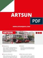 Catalogo Artsun 2018