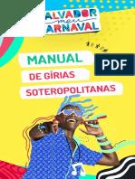 Manual de Girias Soteropolitanas - de Salvador