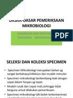 Dasar Pemeriksaan Mikrobiologi