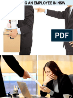 Dismissing an Employee in Nsw