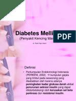 1. Patofisiologi_Diabetes Mellitus 1