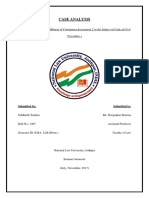 CPC - Case Analysis (Mahesh Yadav)