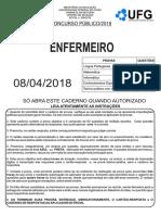 Cs Ufg 2018 Ufg Enfermeiro Prova