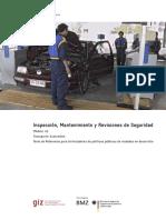 Manual de Procedimientos Para La Revisión Técnica de Vehiculos Automotores en Las Estaciones de Rtv