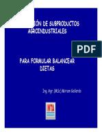 Gallardo UtilizacionSubproductosAgroindustriales