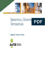5 Geotermia y Cimentaciones Termoactivas Casos Practicos Fenercom 2015