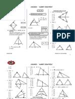 Geometria Tercero de Secundaria