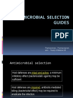 Antibiotic Selection Guide
