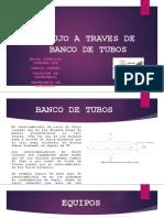 Flujo a Traves de Banco de Tubos