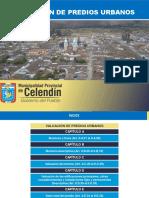 Valuación de Predios Urbanos