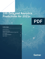 Tealium-Gartner 100 Data and Analytics Predictions