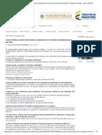 Función Pública Resolvió Dudas Sobre La Expedición de Los Decretos Salariales Para El Año 2015 - Preguntas Frecuentes - SIRVO a MI PAIS