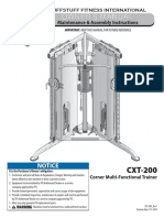 Evolution Corner Multi-Functional Trainer (CXT-200) Owner's Manual