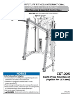 TuffStuff Smith Press Attachment (CXT-225) Owner's Manual
