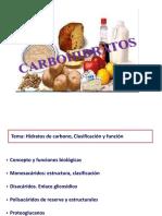 Presentación de Carbohidratos