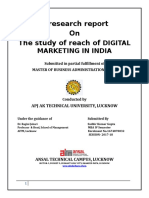 The study of reach of DIGITAL MARKETING IN INDIA.docx