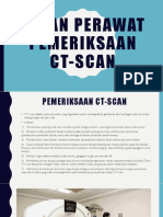 Peran Perawat Pemeriksaan Ct-scan