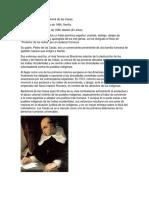 Biografia de Fray Baratolome de Las Casas