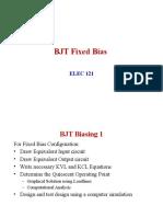 Transister Fixed Bias