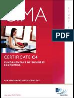 Cima c4 Economics