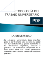 Metodología Del Trabajo Universitario II