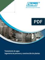 Diseño de Planta de Tratamiento de Agua Potable Por Osmosis Inversa