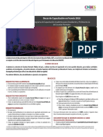 Convocatoria Estudiantes y Profesores Dgespe Francia 2018