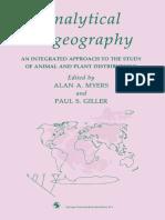Biogeografia analítica
