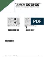 AARON 800-900