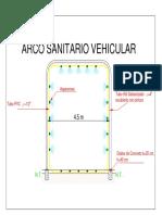 Arco Sanitario Vehicular