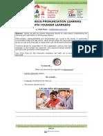 Autonomous pronunciation learning with young students - Chris Kunz.pdf