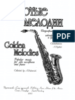 Golden Melodies - Popular Music for Alto Saxophone and Piano