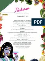 Besharam Cocktails