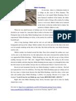Cerita Malin Kundang Dalam Bahasa Inggris