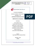 Informe 1 - Método de La Parafina