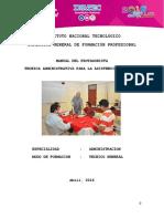 Manual Tecnicas Administrativas