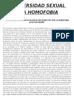 La Diversidad Sexual Psicologia