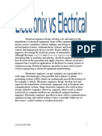 Electronics vs Electrical 1
