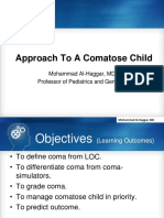 approach to comatose child
