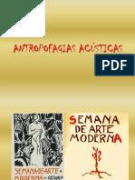 ANTROPOFAGIAS ACÚSTICAS