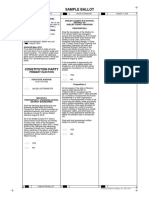 Macon County Constitution Party Sample Ballot 8/2018