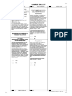 Macon County Nonpartisan Party Sample Ballot 8/2018