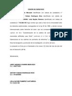 MODELO CESIÓN DE DERECHOS-CAPÍTULOS DE LIBRO Y LIBRO[1255] CAPITULO RN