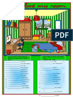 i Love My Room There is There Are Fun Activities Games Grammar Drills 22759