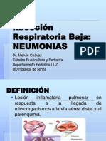 47.-Infecciones Respiratorias Bajas - Dr. Mervin Chavez. Clase.