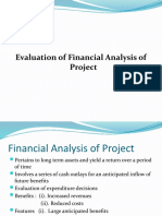 Financial Analysis of Final)