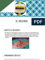 El Voleibol Marlon David Pulache Miranda