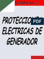 Protecciones Electricas de Generador Beckwith Electric